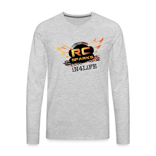 Radio Control Hobby - RC Sparks Studio - Men's Premium Long Sleeve T-Shirt