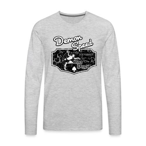 Demon Speed - Men's Premium Long Sleeve T-Shirt