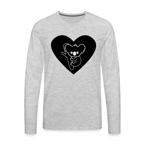 Koala Love - Men's Premium Long Sleeve T-Shirt
