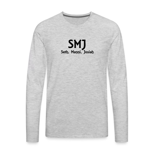 SMJ Shirt - Men's Premium Long Sleeve T-Shirt
