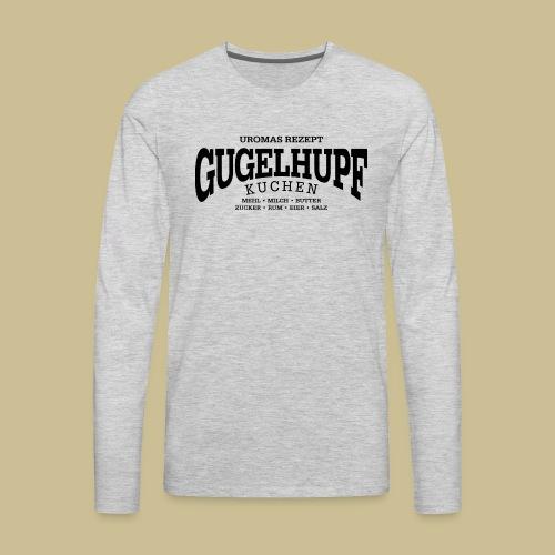 Gugelhupf (black) - Men's Premium Long Sleeve T-Shirt