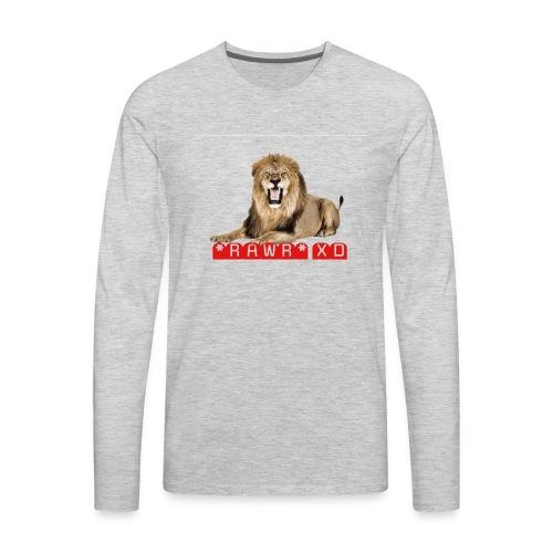 RAWR XD - Men's Premium Long Sleeve T-Shirt