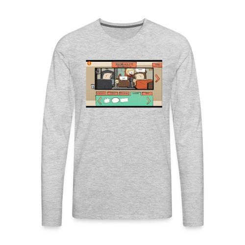 Teh comic - Men's Premium Long Sleeve T-Shirt