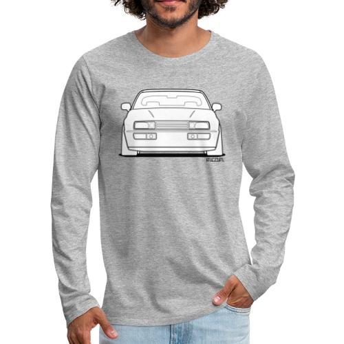 Wolfsburg Rado Outline - Men's Premium Long Sleeve T-Shirt