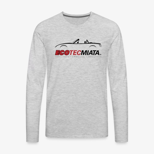 Ecotec Miata Logo - Men's Premium Long Sleeve T-Shirt
