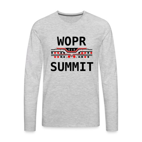 WOPR Summit 0x0 RB - Men's Premium Long Sleeve T-Shirt