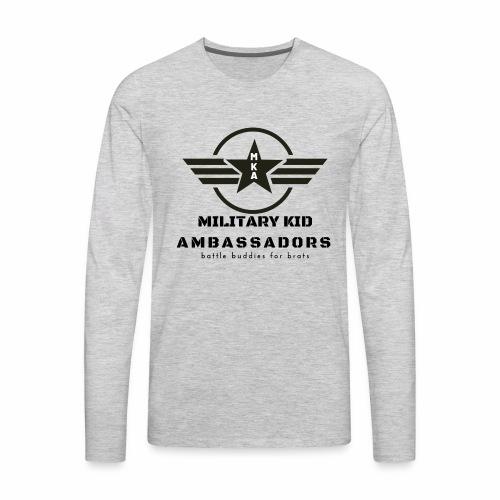 Military Kid Ambassador - Men's Premium Long Sleeve T-Shirt