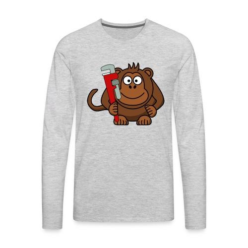Monkey wrench - Men's Premium Long Sleeve T-Shirt