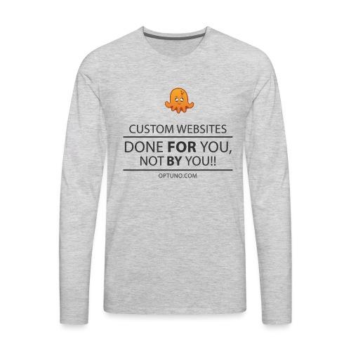 Optuno - Men's Premium Long Sleeve T-Shirt