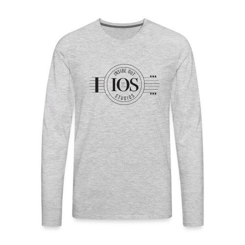 Inside Out logo - Men's Premium Long Sleeve T-Shirt