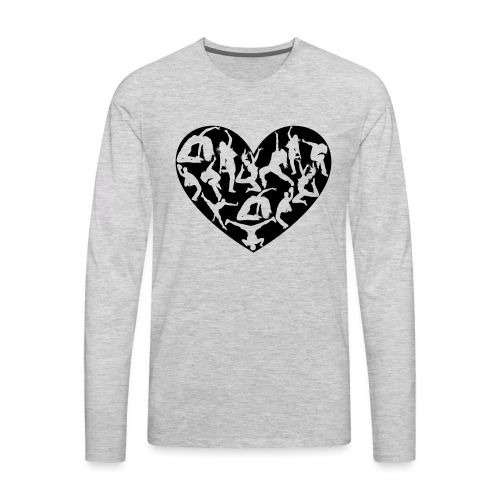 Dance Love - Men's Premium Long Sleeve T-Shirt