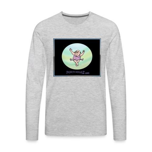 tutu much t-shirt - Men's Premium Long Sleeve T-Shirt