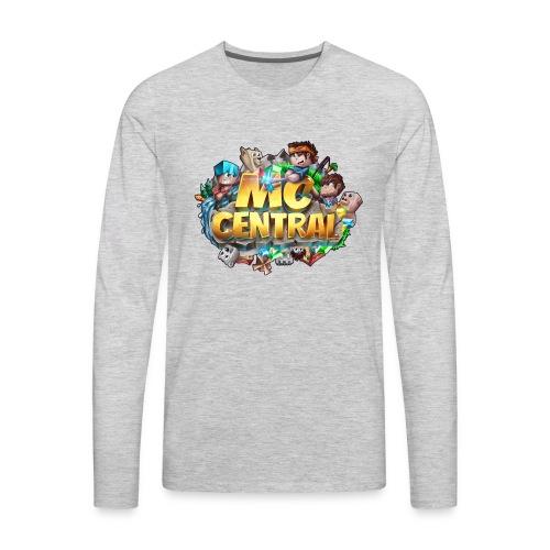 MC Central Logo - Men's Premium Long Sleeve T-Shirt