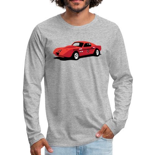 Vintage Hill Climb Race Car - Men's Premium Long Sleeve T-Shirt