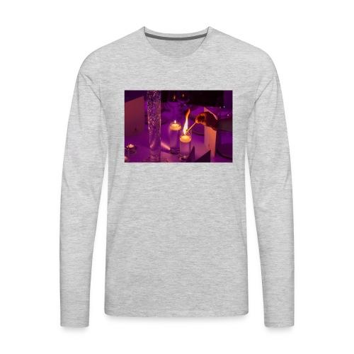Violet Twilight Magick - Men's Premium Long Sleeve T-Shirt