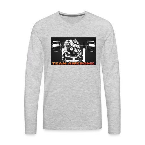 Team awesome - Men's Premium Long Sleeve T-Shirt