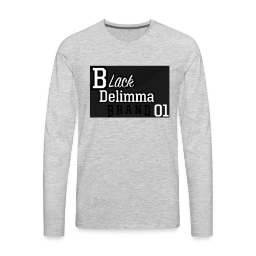 logo 1 - Men's Premium Long Sleeve T-Shirt