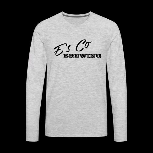Es Co Brewing OG Logo Black - Men's Premium Long Sleeve T-Shirt