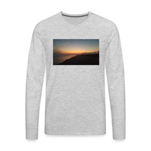 Ocean Sunset - Men's Premium Long Sleeve T-Shirt