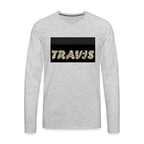 Travis - Men's Premium Long Sleeve T-Shirt