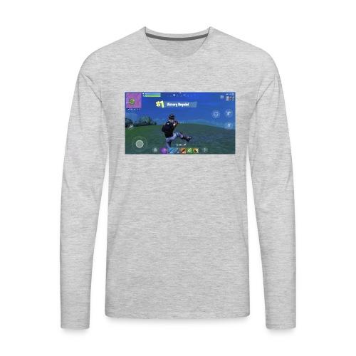 My First Win! - Men's Premium Long Sleeve T-Shirt