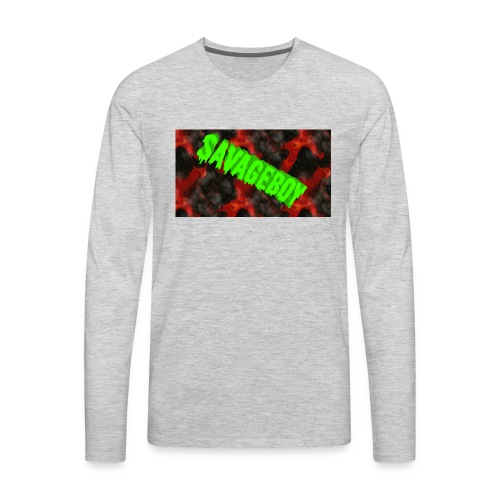 SavageBoy - Men's Premium Long Sleeve T-Shirt