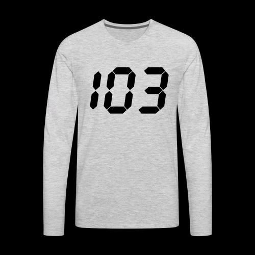 perfect 103 - Men's Premium Long Sleeve T-Shirt