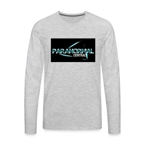 Paranormal Central On Black - Men's Premium Long Sleeve T-Shirt