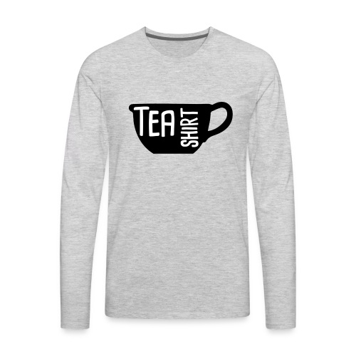 Tea Shirt Black Magic - Men's Premium Long Sleeve T-Shirt