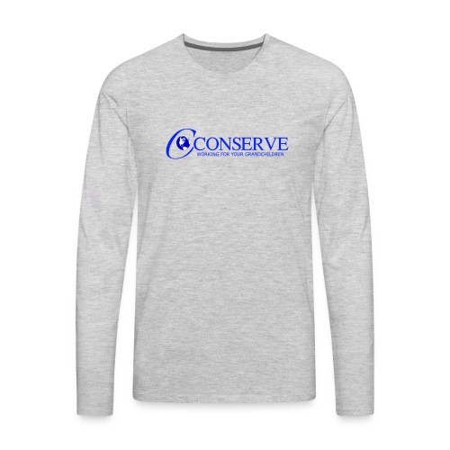 Conserve 1 - Men's Premium Long Sleeve T-Shirt