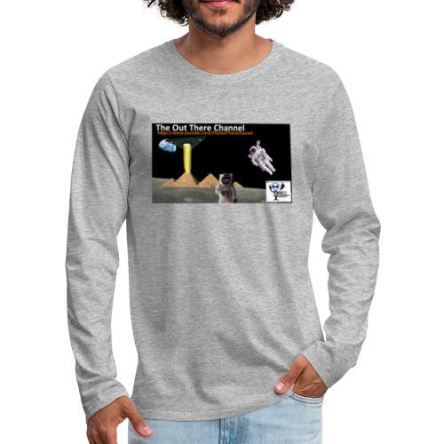 UFO Pyramids2019 TheOutThereChannel - Men's Premium Long Sleeve T-Shirt