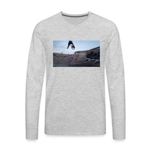 banner tshirt - Men's Premium Long Sleeve T-Shirt