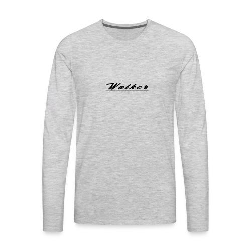 Walker - Men's Premium Long Sleeve T-Shirt
