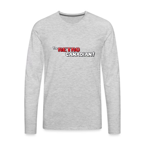 TheRetroCanadian Official Tee Shirt - Men's Premium Long Sleeve T-Shirt