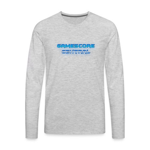 Gamescore Central Varsity Sweatshirt - Men's Premium Long Sleeve T-Shirt