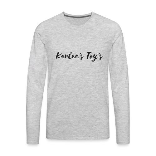 Karlee's Toy's - Men's Premium Long Sleeve T-Shirt