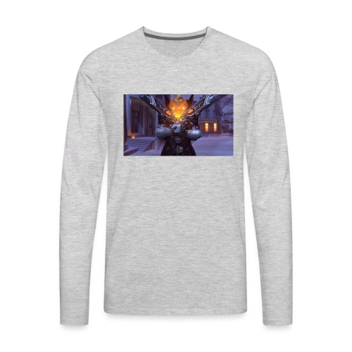 ReaperDude Halloween - Men's Premium Long Sleeve T-Shirt