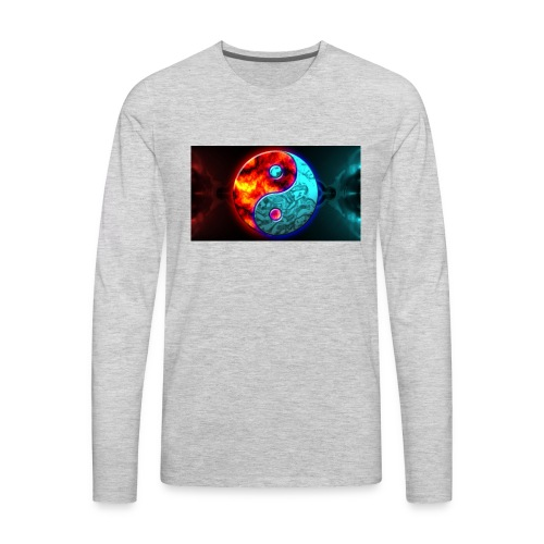 YIN N YANG - Men's Premium Long Sleeve T-Shirt