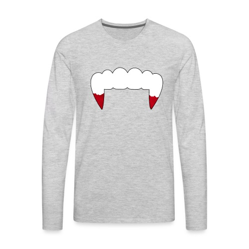 Vampire Fangs - Men's Premium Long Sleeve T-Shirt