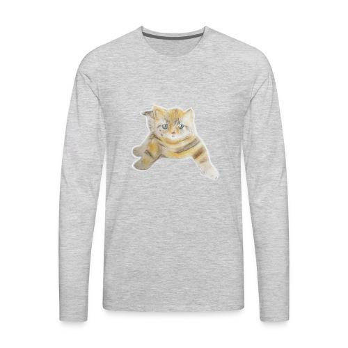 sad boy - Men's Premium Long Sleeve T-Shirt