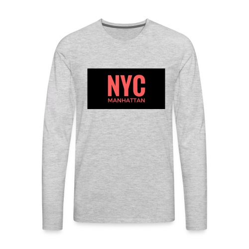 NYC Fan Love - Men's Premium Long Sleeve T-Shirt