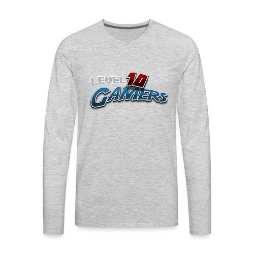Level10Gamers Logo - Men's Premium Long Sleeve T-Shirt