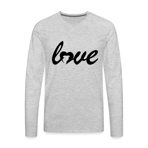 Dog Love - Men's Premium Long Sleeve T-Shirt