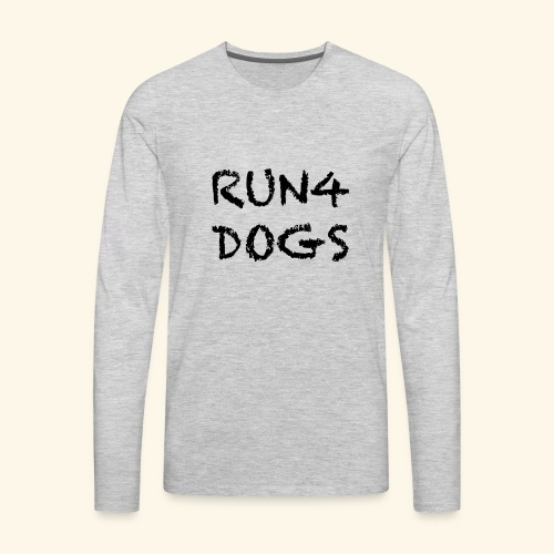 RUN4DOGS NAME - Men's Premium Long Sleeve T-Shirt