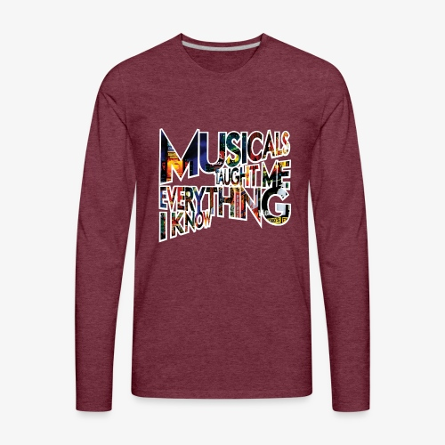 MTMEIK Broadway - Men's Premium Long Sleeve T-Shirt