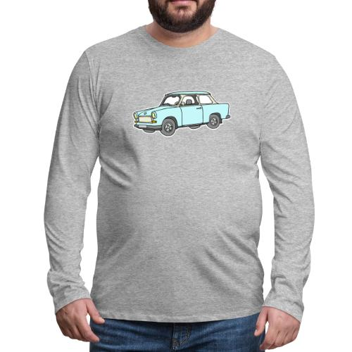 Trabant (lightblue) - Men's Premium Long Sleeve T-Shirt