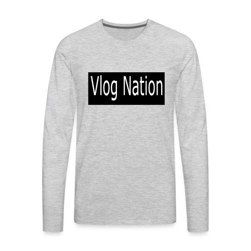 Vlog Nation - Men's Premium Long Sleeve T-Shirt