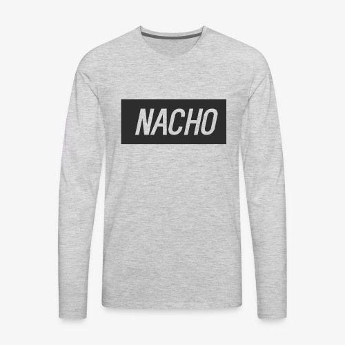 Nacho Logo - Men's Premium Long Sleeve T-Shirt