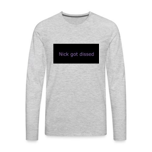 Dr love merch - Men's Premium Long Sleeve T-Shirt