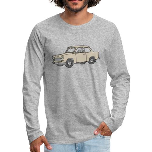 Trabant (papyrus car) - Men's Premium Long Sleeve T-Shirt